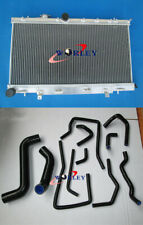 For Subaru Impreza Wrx STI GDB GD8 GD 2.0L 2.5L 2002-2007 Aluminum Radiator+Hose