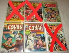 Conan The Barbarian U-PICK ONE #32,38 or 46 Marvel (1973-74) PRICED PER COMIC
