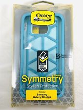 Otterbox Symmetry Hard Case For Samsung Galaxy S6 Edge Blue New!!!