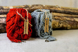 """""""Tiamat"""" Dragon Egg Pouch Bag - Stones Crystals Runes Wicca Handmade Yorkshire"""