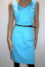 JUMP Brand Light Blue Sleeveless Sheath Dress with Belt Size 16 BNWT #SC89