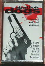 Various ‎Abattoir Dogs CASSETTE ALBUM PROMO Garage Rock, Pop Rock, Rockabilly,