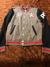 Nintendo Original Champion 1985 Super Mario Bros Varsity Jacket Adult S