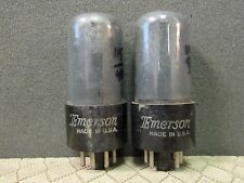 CURVE TRACER MATCHED PAIR OF RCA MADE 6V6GT VACUUM TUBES