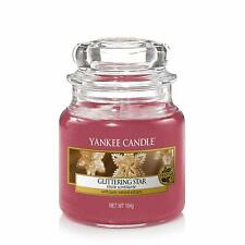 Yankee Candle Glittering Star Small Jar Red 3.7oz 104g NEW