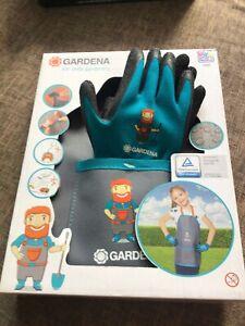 Childerns Gardening Apron And Gloves Xmas Gift