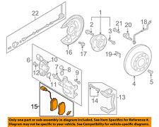 VW VOLKSWAGEN OEM 09-15 CC Brake-Rear Pads 3AA698451