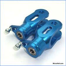 MicroHeli MHE-CP002BGB Blue Aluminum Precision CNC Main Blade Grips: Blade CP