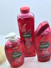 Radox Feel Ready Delicious Smell Pomegranate Gift Set