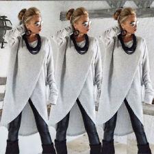Women Long Sleeve Sweater Blouse Ladies Sweatshirt Dress Jumper Pullover Tops AU