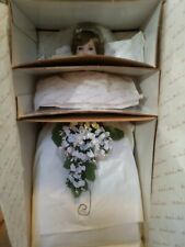 Danbury Mint Princess Diana Bride & Prince William doll Royal Wedding Nib