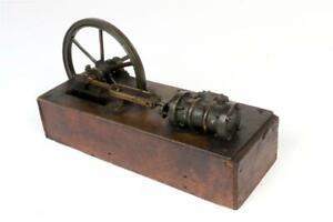Vintage ~  Horizontal Steam Engine                                         #2153