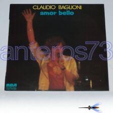 """CLAUDIO BAGLIONI """"AMOR BELLO"""" RARO LP PROMO SPAGNA"""