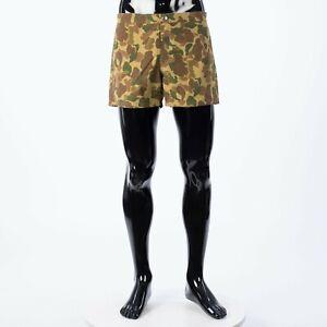 CELINE 495$ Swim Shorts In Camouflage Printed Nylon