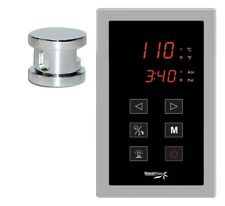 SteamSpa OATPK Chrome Oasis Touch Panel Control Kit