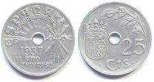 II AÑO TRIUNFAL 25 céntimos 1937 Franco