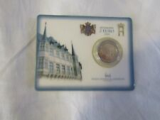 COINCARD 2 euro BU LUXEMBOURG 2004 tres rare