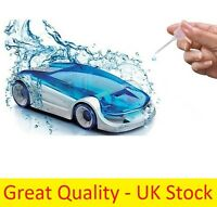 DIY Assembled Salt Water Power Fuel Cell Car Kids Child Education Toy Gift Adult