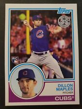 2018 Topps Dillon Maples 35th Anniversary Rookie Insert Card #83-22 Chicago Cubs