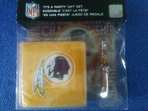 """NFL """" Washington Redskins"""" Party Gift Set"""