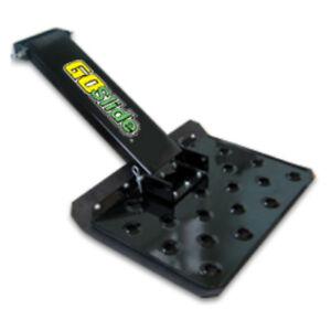 Lawn Mower Sulky - GoSlide   Platform Style Velke for Commercial Walk Behind