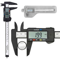 Digitaler Messschieber Schieblehre Messlehre 0-150 mm mit LCD Display Batterie
