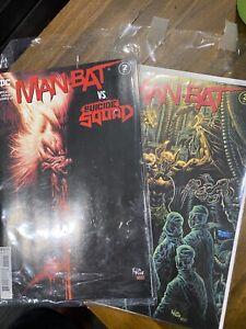 DC Comics Man-Bat #1-4 1 2 3 4 2021 Wielgosz Kumar Kyle Holtz Covers CHEAP!