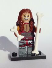 100% LEGO  Ozzy OSBOURNE BARK AT THE MOON FIGURE with bones and stand