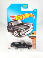 Hot Wheels 2016 DATSUN 620 Black HW Hot Trucks #317 NEW NOC with Protector Pak