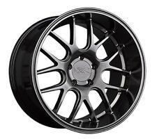 18x9 XXR 530D 5x112 +35 Chromium Black Wheels New Set