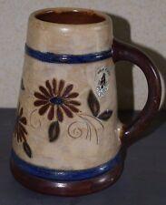Grande CHOPE Vase en Grès signé DUBOIS 20.5 cm
