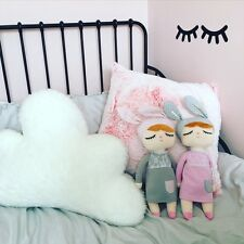 """Sleepy Eyes Lashes Lash Wall Stickers Decals - 3"""" 6"""" 12"""" 24"""" CANDY PINK"""