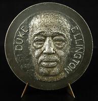 Medal Duke Ellington Music Jazz Num Ee/ 100 85 mm Resseguier Lagriffoul Medal