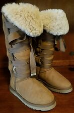 Women Love Collective Australia Brown Tall Fashion Boots Size 5 **Barely Used