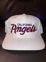 Vintage Sports Specialties California Angels SnapBack Script Hat Cap MLB RARE