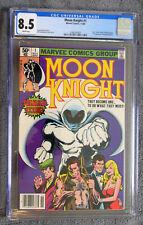 MOON KNIGHT #1 (1980) CGC 8.5 ORIGIN 1ST RAOUL BUSHMAN WHITE PAGES