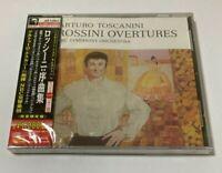 Arturo Toscanini SEALED BRAND NEW CD Rossini Overtures NBC SO Japan Obi