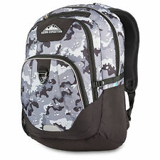 Sierra Expedition Black And Gray Desert Camo Backpack Laptop And Tablet Sleeve