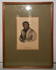 Original McKenney & Hall c1865-70 Original Hand Painted Litho META KOOSEGA