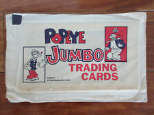 1950's Popeye Jumbo Trading Cards King Features Unopned Pack Mint