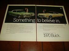 1970 BUICK RIVIERA - ELECTRA 225  ***ORIGINAL VINTAGE AD***