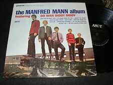 THE MANFRED MANN Album Do Wah Diddy Diddy STEREO Ascot LP Original US Issue 1964