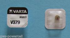 2 x VARTA Uhrenbatterie V379 SR521SW 14mAh 1,55V SR63 SR521 AG0 Knopfzelle