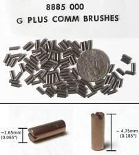 96pr AFX G+ G-PLUS Original Equipment Carbon Brushes 8885 Fit MANY HO Slot Cars!