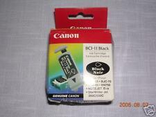 CANON BCI-11 BLACK INK CARTRIDGE - 3-PACK - NIP