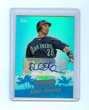 RAUL IBANEZ 2013 TOPPS SPRING FEVER AUTO #/113
