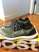 NWB- Adidas ultra boost uncaged -Black in Size 9.5