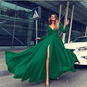 Kleid Grun Lang In Brautjungfern Besonderne Anlasse Artikel Gunstig Kaufen Ebay