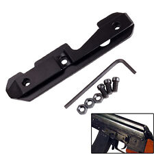Side Rail Gun Scope Mount Dovetail Fits Stamped or Milled Receiver Tactical