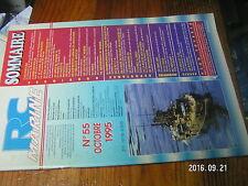 1µ?§ Revue RC Marine n°55 Plan encarté Sous Marin SAGA / Midgard 1 Exocet